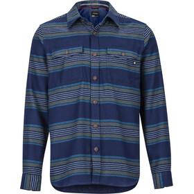 Marmot Zephyr Cove Midweight Flannel LS Shirt Herre Arctic Navy